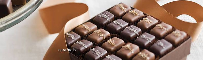 Frans sea salt chocolate caramels